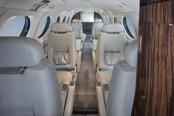 King Air 200 - Interior